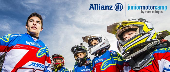 ¡Ya puedes inscribirte al 2º Allianz Junior Motor Camp con Marc Márquez!